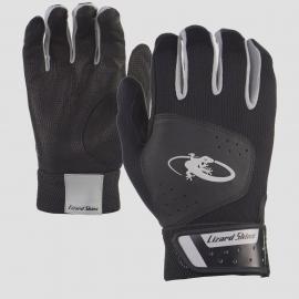 Youth- Komodo Lizard Skin Batting Gloves - Black