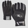 Youth- Komodo Lizard Skin Batting Gloves - Black
