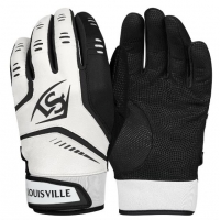 Omaha Youth Batting Gloves - White/Black