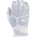 Komodo Pro Batting Gloves - Titanium White