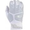 Komodo Pro Batting Gloves - Titanium White