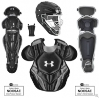 Under Armour Converge Victory Series Ages 9-12 Catchers Set, Black