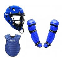 Diamond Adult Catcher's Set - Royal Blue