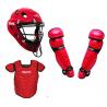 Diamond Adult Catcher's Set - Red