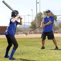 Target Softball Swing Trainer