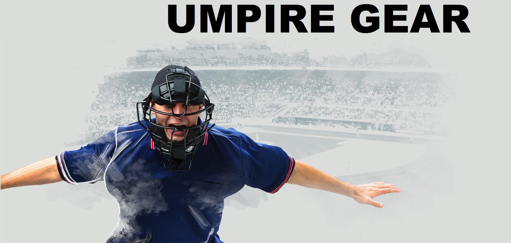 Umpire Uniforms and Equipment
