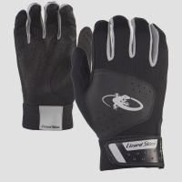 Adult - Komodo Lizard Skin Batting Gloves - Black