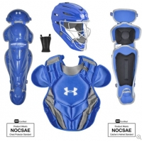 Under Armour Converge Victory Series Ages 9-12 Catchers Set, Royal