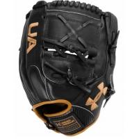 11.75 Inch Under Armour Genuine Pro 2.0 Black/White/Caramel Adult Infield Baseball Glove