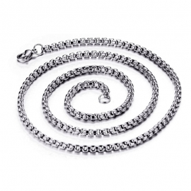 Stainless Steel Necklace - Silver