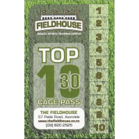 Top Ten 30 - Batting Pass (10 x 30 minute sessions)